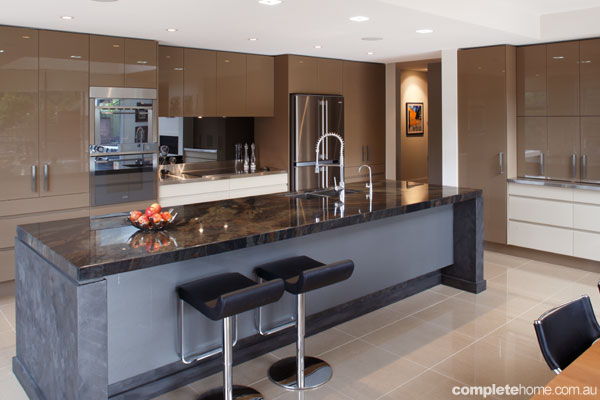 Real Kitchen Streamlined Modern Kitchen Complete Home