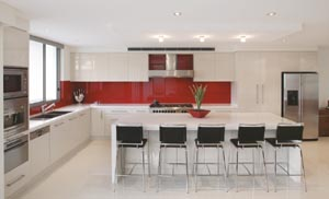 A contemporary kitchen haven