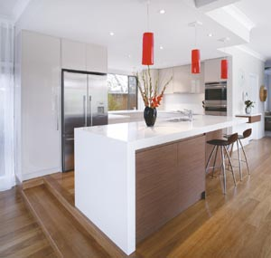 Feature-packed kitchen design