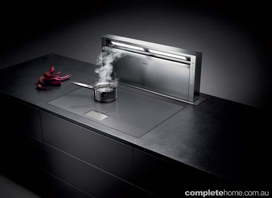 Kitchen appliances - Gaggenau recessed oven vent
