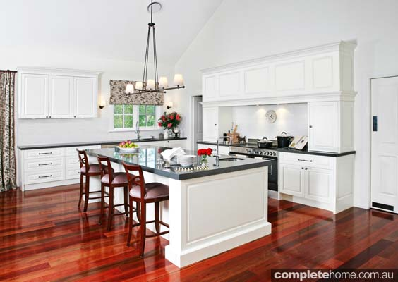 A grand country kitchen with a modern twist by A-Plan Kitchens