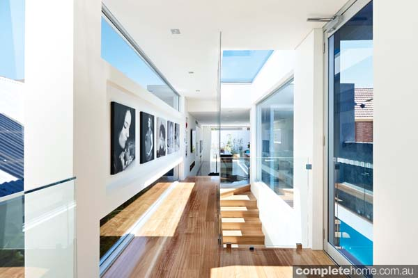 Grand designs australia annandale urban house completehome for Australian home interior designs