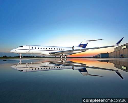 Global Express jet