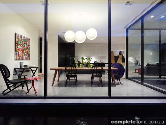 Edwardian home - glass exterior