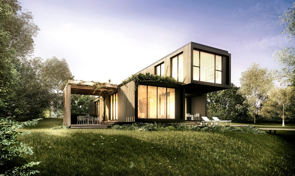Ecoshelta klik and more 15 fabulous prefabricated homes for Minimalist house grand designs