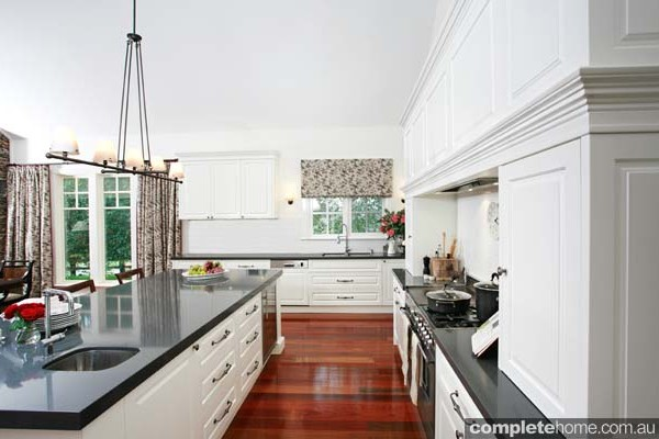 A modern take on a grand country kitchen