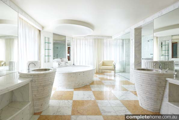 top 6 australian luxury hotel bathrooms completehome