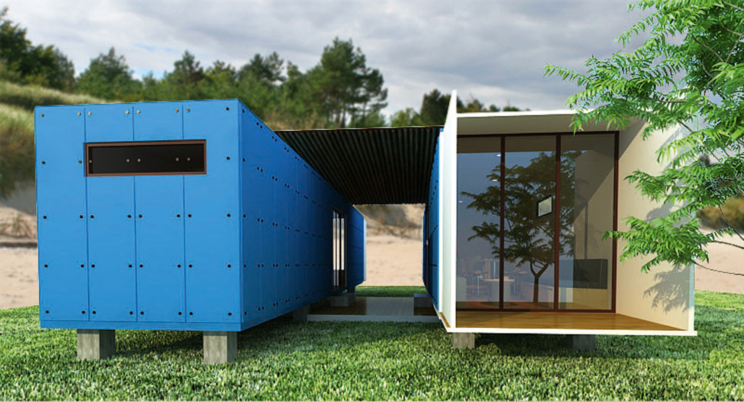 [25] Container Homes