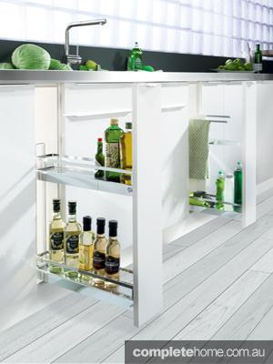 Skinny Storage: Hafele Kitchen Base Cabinets