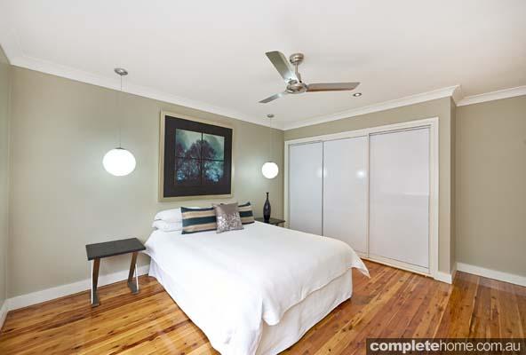 Home renovation - main bedroom