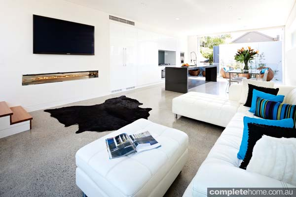 Grand designs annandale house - livingroom