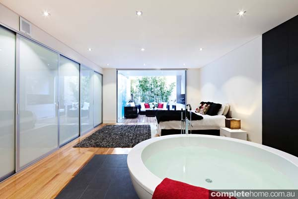 Grand designs australia annandale urban house completehome for Grand bedroom designs