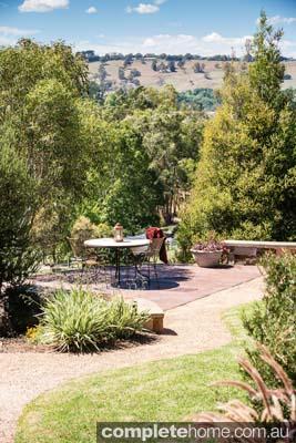 Beautiful landscape design - outdoor garden