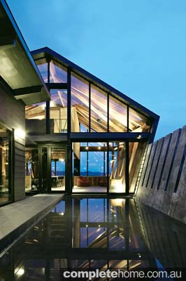 Modern japanese home - glass and timber