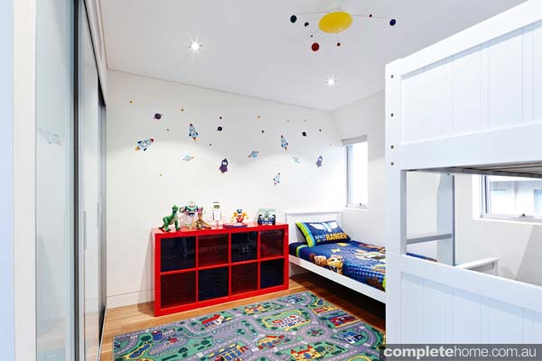 Grand designs annandale house - kids bedroom