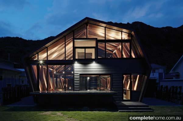 Modern japanese designer home - exterior