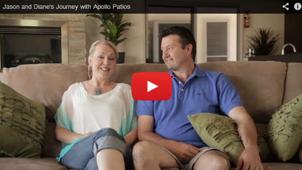 Intro to Diane and Jasons outdoor area by Apollo Patios