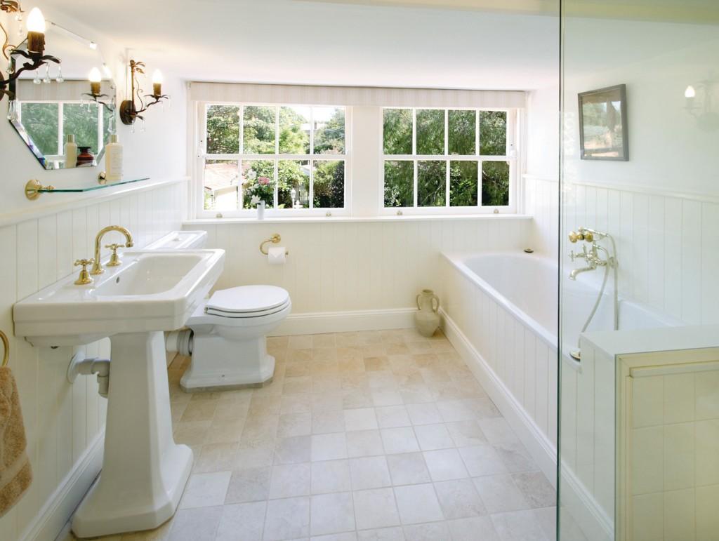 Gorgeous Georgian bathroom design