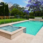 Contemporary family pool design