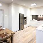 A clutter free minimalist kitchen design