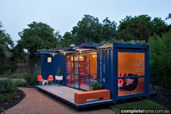 Container Guest House.