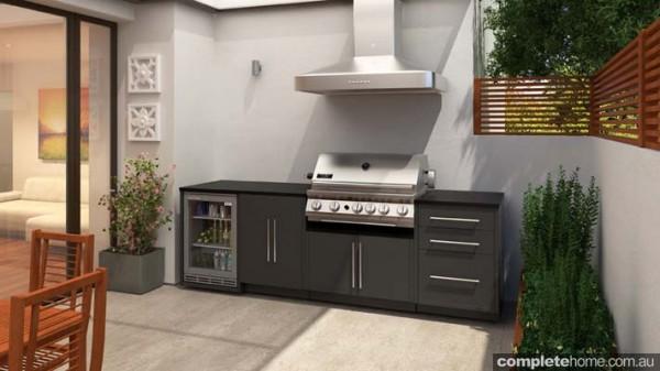 An alfresco kitchen from MyAlfresco.