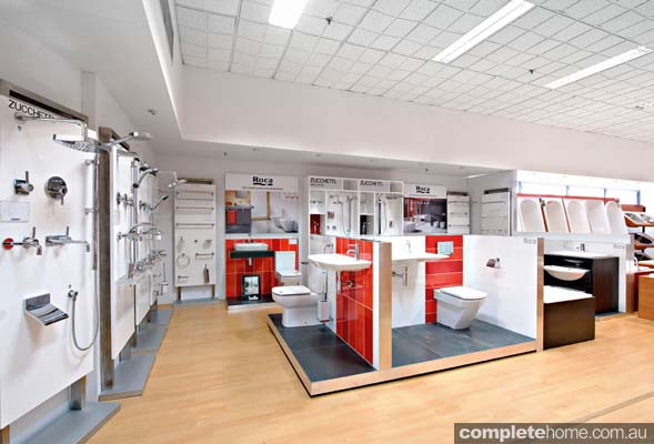 Central Plumbing Plus showroom