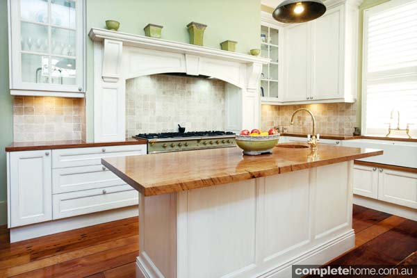 Classic kitchen design that beautifully complements the for Classic kitchen design