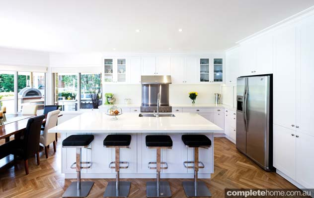 A fresh and contemporary kitchen design from Kitchens by Peter Gill.