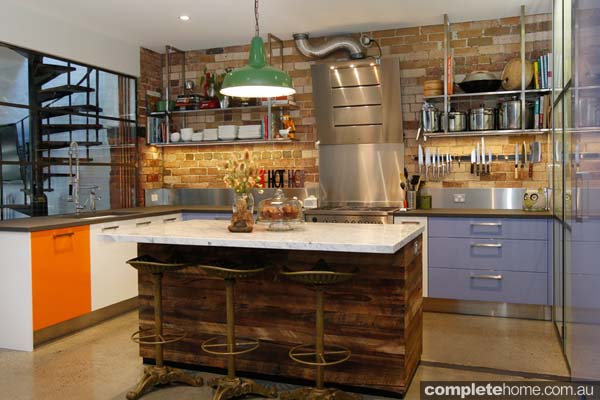 An enchanting kitchen design from The Kitchen Place.