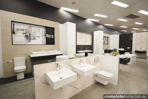 Design tips from e s trading completehome for Bathroom showroom designs