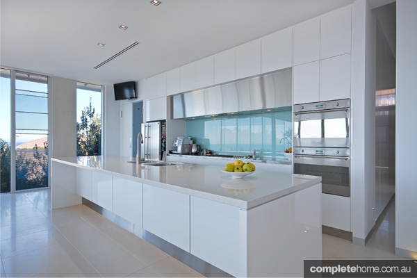 An innovative kitchen design from Goolwa Kitchens and Wardrobes.