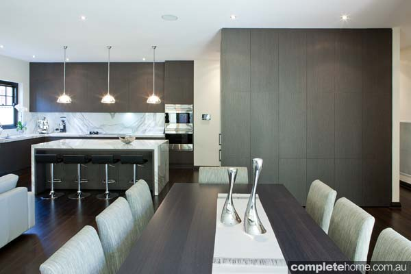 Minimalist kitchen design from Mint Kitchen Group