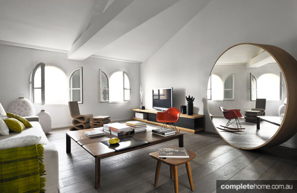 An open modern living room from Adrien Champsaur.