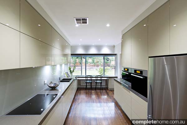 A sleek and streamlined kitchen design from Kitchens by Peter Gill.
