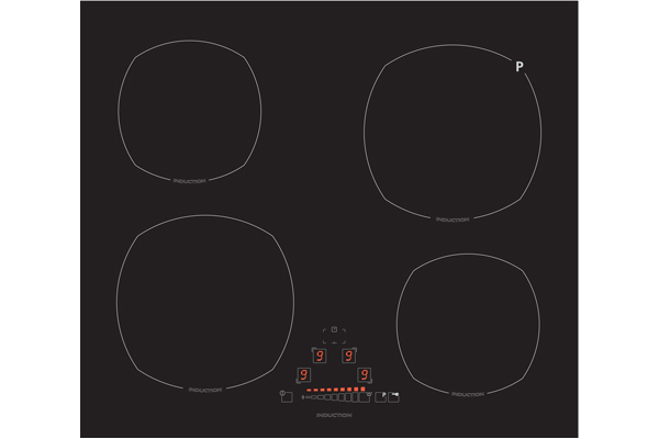 Slider touch induction cooktop from Euro Appliances