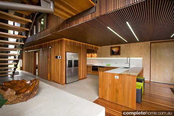 A beautiful timber kitchen design from Garsden & Clarke Kitchens.