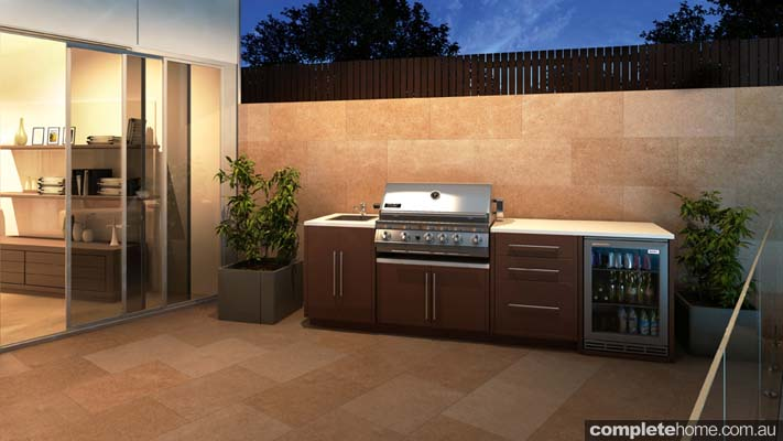 amazing alfresco designs from myalfresco completehome modern sophisticated kitchen design meets seamless