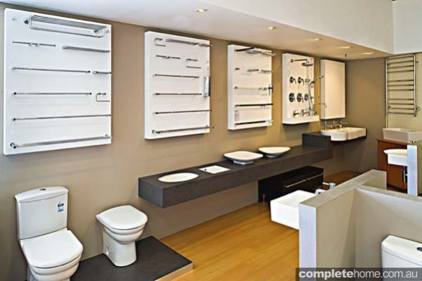 Central Plumbing Plus' showroom.