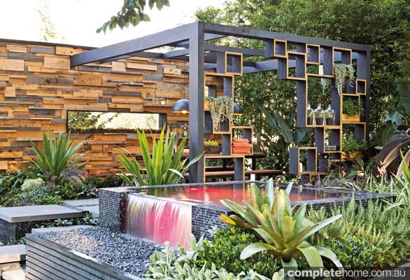 Cube2 an award winning outdoor room design completehome for Garden design awards