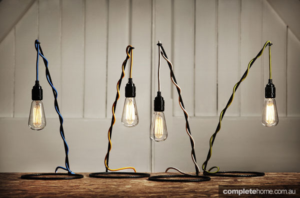 Gone fishing lamps from Volker Haug.