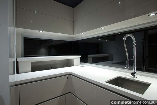 An innovative kitchen design that incorporates clever technology from LINAK Australia.