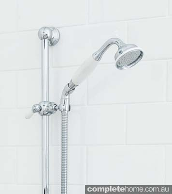 Shower head from Perrin and Rowe