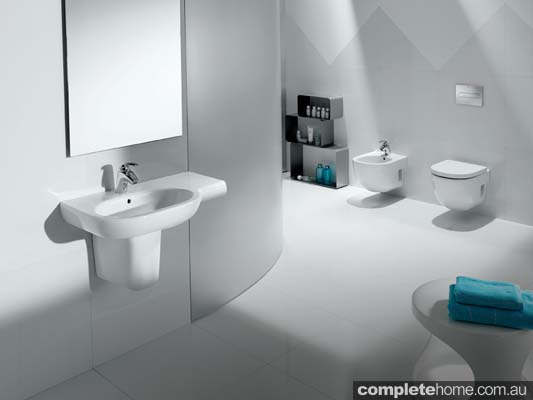 A sustainable bathroom design from Roca