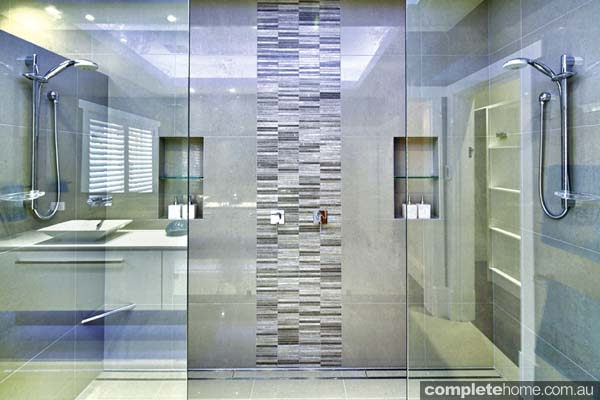 Window In Shower also Bath also 11 Perfect Shower Heads For Your Master Bathroom besides Elegant Contemporary Glassless Walk In Shower Toilet Area Contemporary Bathroom Philadelphia moreover Photo Gallery. on master bathrooms with walk in showers