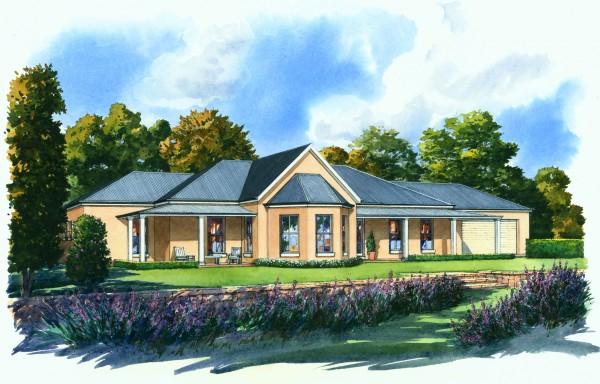 Glenhaven Kit Home render