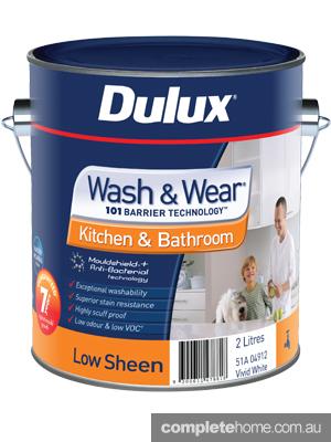 2L Dulux Wash & Wear Kitchen & Bathroom Low Sheen