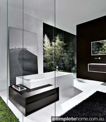 Falper Shape bathtub.