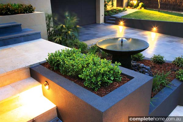 A beautiful landscape design from Cool Water Landscapes.