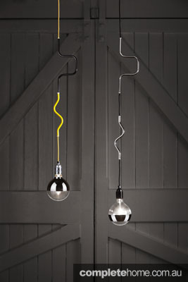 Cable Jewellery pendant lights from Volker Haug.